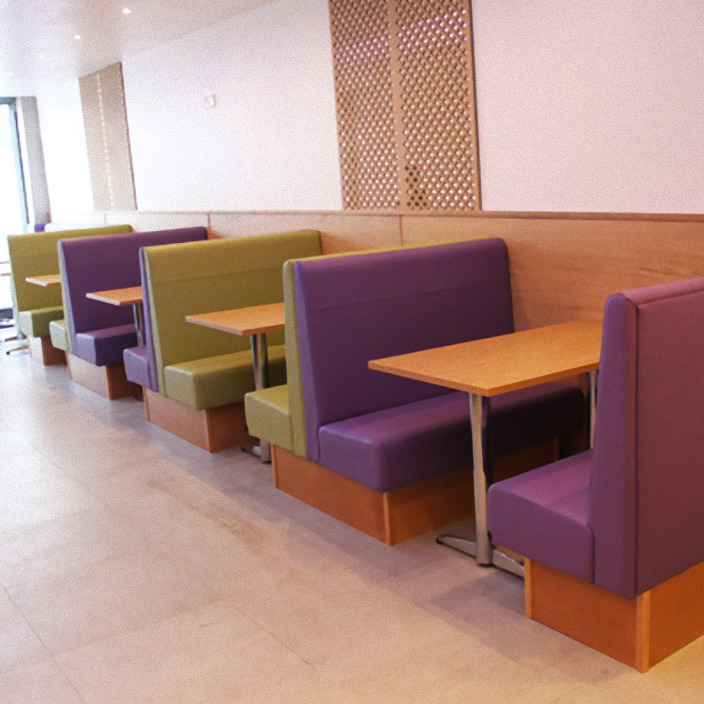 Back To Back Booths Booth Seating Banquette Seating