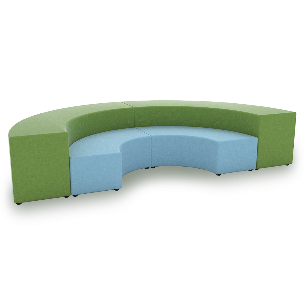 Junior curved bench all benches cubes drums benches Curved bench seating