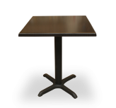 Black Pedestal Base Tables