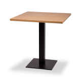 Black Square Base Tables