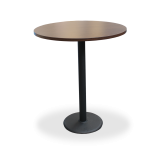 Black Round Base Tables