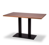 Black Twin Base Tables