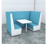 Luna 4-Person Privacy Booth