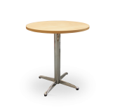 Chrome Pedestal Base Tables