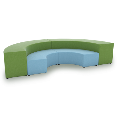 Junior curved bench standard benches bench seating Curved bench seating