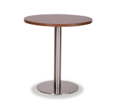 Round Stainless Base Dining Height Tables