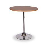 Round Chrome Base Dining Height Tables
