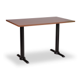 Twin Black Base Tables