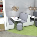 Luna 4-Person Booth